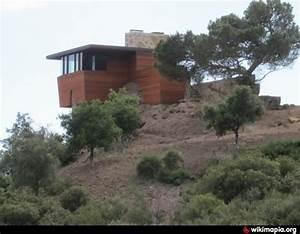 Frank Lloyd Wright Gebäude : arch oboler guest house eaglefeather estate 1941 malibu california frank lloyd wright ~ Buech-reservation.com Haus und Dekorationen