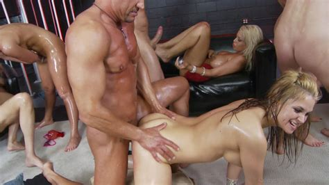 Big Tit Oil Orgy 2010 Videos On Demand Adult Dvd Empire