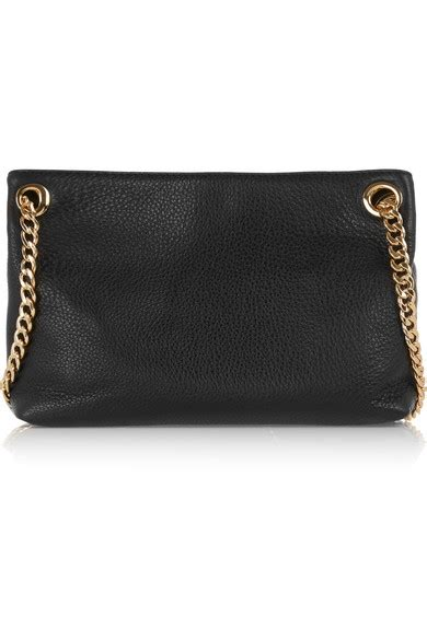 michael michael kors jet set messenger medium textured