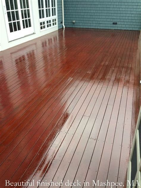 mahogany deck  mashpee ma beautiful finish mahogany