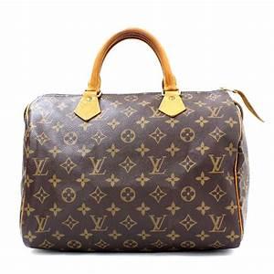 Louis Vuitton Tasche Speedy : brand louis vuitton louis vuitton speedy 30 monogram boston bag lady 39 s brown monogram ~ A.2002-acura-tl-radio.info Haus und Dekorationen