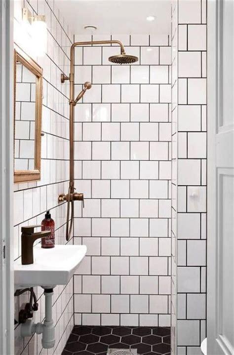 brass bathroom fixtures swedish bath  white tile