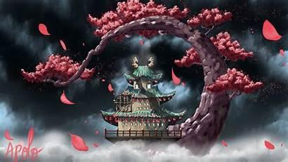 Wano Piece Wallpapers Anime Temple 4k Desktop