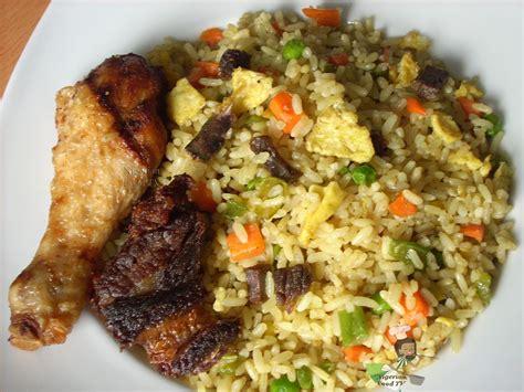 rice cuisine egg fried rice