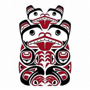 haida bear totem | tattoo ideas | Pinterest | Search ...
