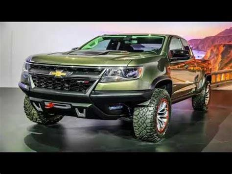 2019 New Chevrolet Colorado Zr2 Review, New Pickup