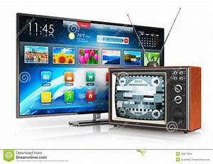 Evolution Of Television Stock Illustration - Image: 42877864