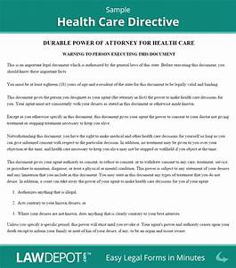Living will forms free healthcare directive us lawdepot for Advanced directive template