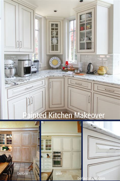 painted kitchen cabinets bella tucker decorative