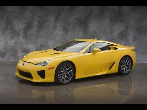 lexus yellow 2012 lexus lfa yellow front and side 1280x960 wallpaper