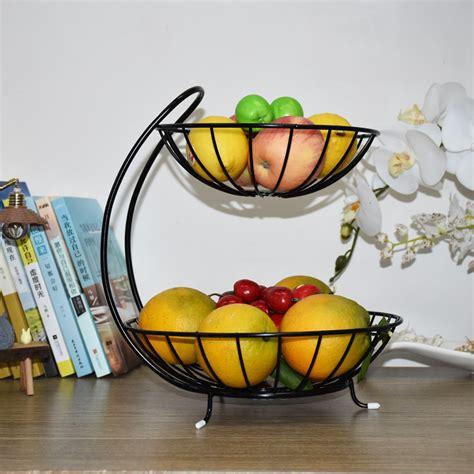 kitchen accessories fruit basket storage rack layer