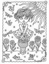 Coloring Crazy Cats Pdf Halloween Adult Mermaid Instant Ages Witches Eyes Printable Vendu Produit Par Chat sketch template