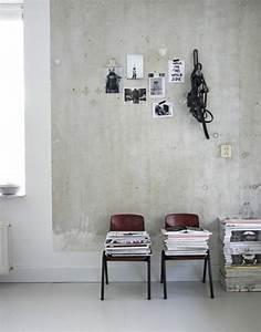 Decke Streichen Richtung : wandfarbe beton wie kann man eine betonwand streichen ~ Frokenaadalensverden.com Haus und Dekorationen