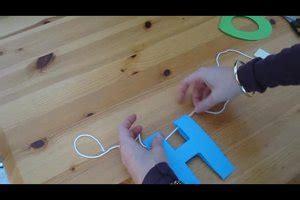 video buchstabenkette selber basteln anleitung