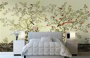 papier peint d39artiste asiatique tapisserie numerique zen With chambre bébé design avec livraison fleurs et vin