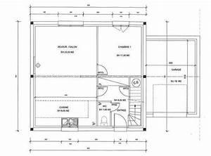 plan de maison jumellee modele gratuit jumella With superb plan maison en l 100m2 18 projets nos maisons
