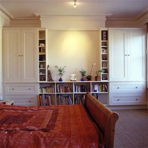 fitted wardrobe alcove cabinets shelves carpentry