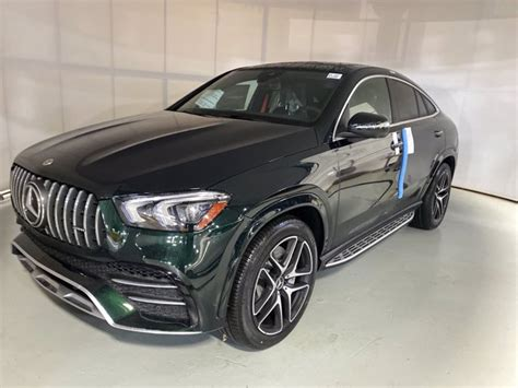 The gle rides comfortably over rough there's so much grip from the wide wheels and sticky rubber, and the gle53 always feels surefooted. Pre-Owned 2021 Mercedes-Benz AMG GLE 53 4MATIC Coupe SUV | Emerald Green Metallic 21-387