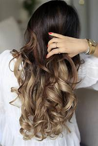 Balayage Cheveux Bouclés : les cheveux chatain quelle nuance choisir et pourquoi ~ Dallasstarsshop.com Idées de Décoration