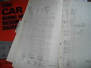 1989 Mercury Tracer Oversized Factory Wiring Diagrams