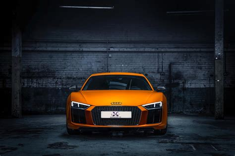 audi  orange colour hd wallpapers  auto