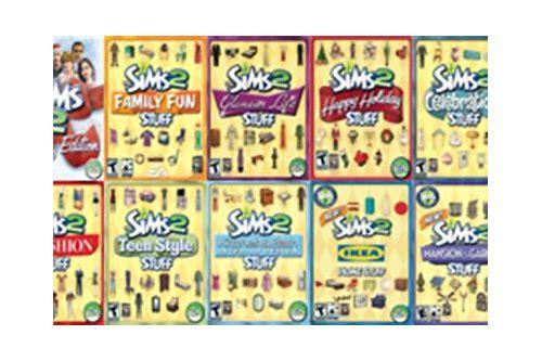 free sims expansion packs