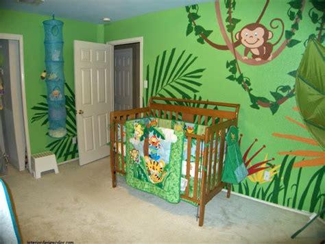 déco jungle chambre bébé idée déco chambre bébé jungle bébé et décoration