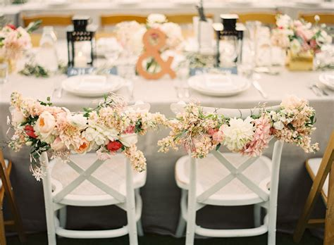 decoration chaise mariage unique wedding reception ideas for creative brides