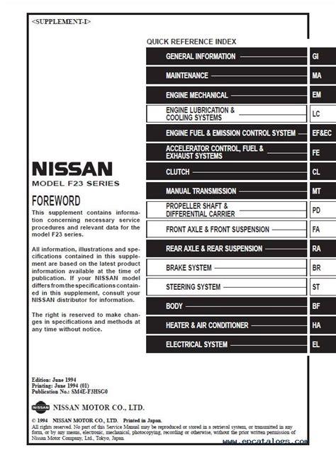 free online car repair manuals download 2007 nissan altima instrument cluster nissan cabstar f23 service manual pdf download