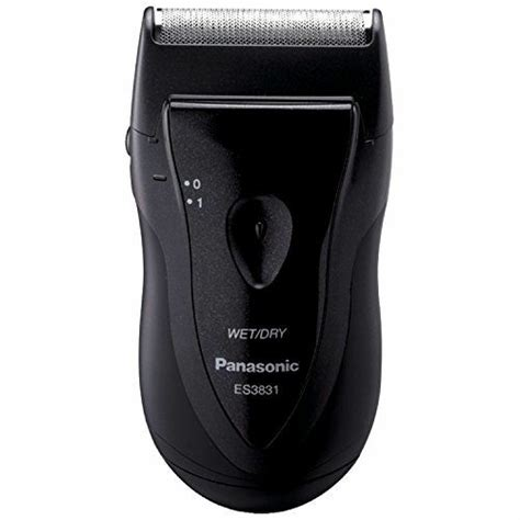 panasonic single blade travel clean shaver battery operated men wet dry