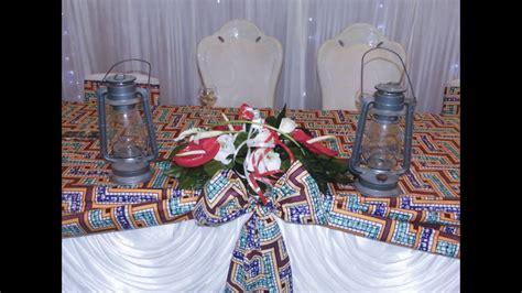 decoration de la salle pour le mariage coutumier de yan