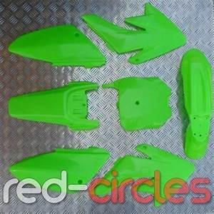 Green Crf70 Style Pit Bike Plastics Set Fits 125cc 140cc
