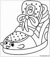 Wedge Sneaky Shopkins Pages Coloring sketch template