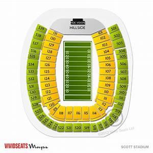 Scott Stadium Seating Chart Vivid Seats