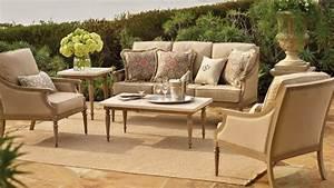 Canape De Jardin Bois : design exterieur salon jardin ensemble canap fauteuils ~ Premium-room.com Idées de Décoration