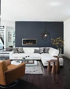 le gris anthracite en 45 photos d39interieur couleur With quel mur peindre en fonce 10 peinture 10 deco chic en gris anthracite deco cool