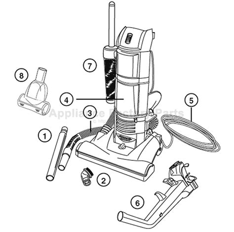 Parts For 2961  Eureka  Vacuum Cleaners