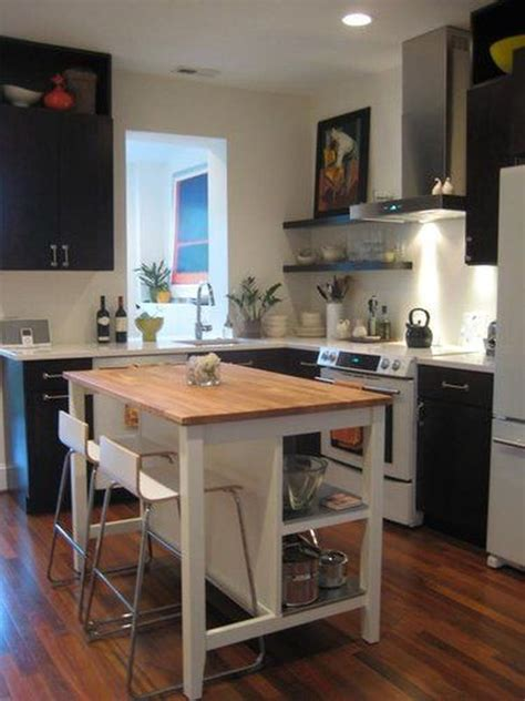 kitchen island space how to save space with a kitchen island