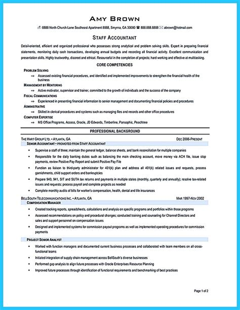 problem solving description for resume resume format