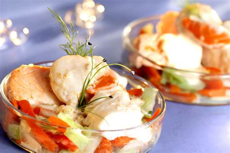cassolette de poissons  st jacques cuisine az