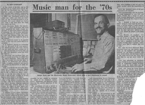 1972 Newspaper Article About Ralph Dyck & His Modular