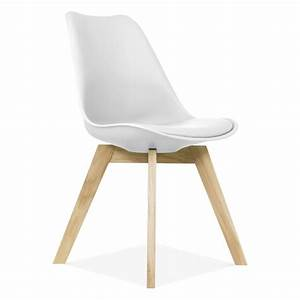 Contemporary White Dining Chairs BellissimaInteriors