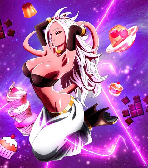 dragon ball fighter  majin   anime babe   year