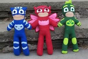 PJ Masks Fleece Dolls Available! (HARD to Find