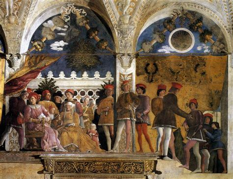 la chambre biographie et œuvre de andrea mantegna