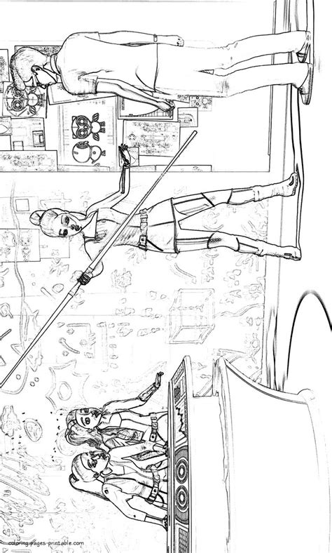 barbie spy coloring pages coloring pages printablecom