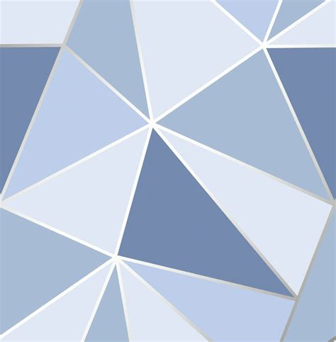 fd fine decor apex geo blue geometric design