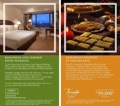 hotel bandung promo ramadhan room fb promotion hyatt
