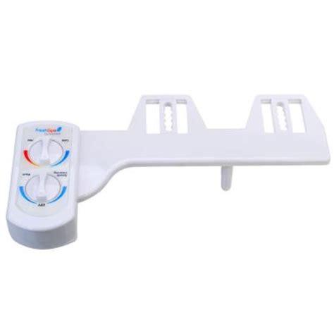 home depot bidet brondell dual temperature bidet attachment in white fsw 20