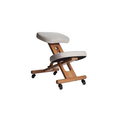 chaise assis siège ergonomique assis genoux évitez le mal de dos sur